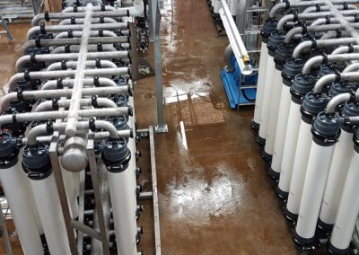 WATER TREATMENT AT ROSEBERRY (TAS WATER)